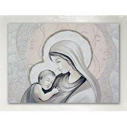 Quadro Salvadori Arte Maternità 50x70