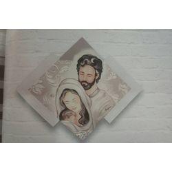 Quadro Sacro Dipinto Su Tavola Con Cornice -Artemania artAMD 37