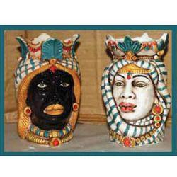 teste_di_moro_modello_africano_stoffa_h13cm_ceramica_le_ceramiche_di_nonna_rosa_emmanueleregali_bombonieraperfetta