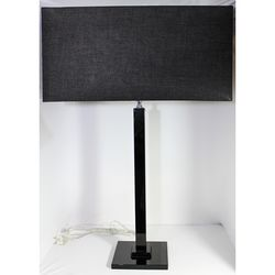 Lampada Elegance con base quadra - Onlylux-emmanueleregali-bombonieraperfetta