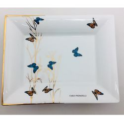piatto_svuota_tasche_limoges_carlo_pignatelli_butterfly_emmanueleregali_bombonieraperfetta