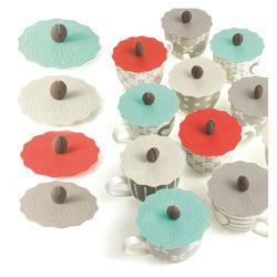 Cover tazzine in silicone colori assortiti - Brandani-emmanueleregali-bombonieraperfetta