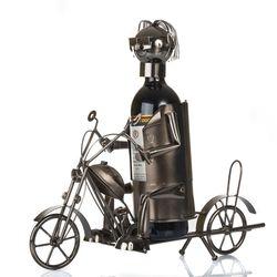 E3466 - Portabottiglia Motociclista - Emmebi.emmanueleregali-bombonieraperfetta