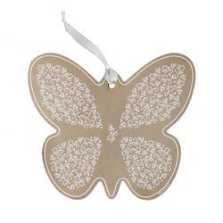 Farfalla riccioli di fata in ceramica - Brandani-emmanueleregali-bombonieraperfetta