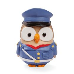 ML18FA-2PS-Goofi Polizia di Stato - Gufo in ceramica - Egan-emmanueleregali