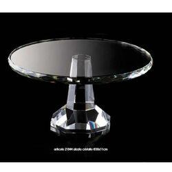 21844-Alzata in cristallo - Hervit-emmanueleregali-bombonieraperfetta