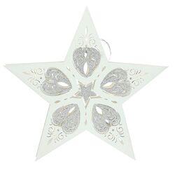 Addobbo-Stella-Led-30 cm x 30 cm-Natale-Christmas-Tognana Porcellane-Emmanuele Regali-Giarre-Sicilia-Italia