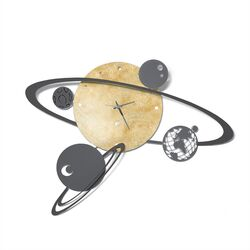 0OR2947C01-Orologio da parete Sistema Solare-Arti e Mestieri-emmanueleregali-bombonieraperfetta