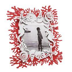 0PF3441C204-Porta foto grande decoro corallo Nettuno-Arti e Mestieri-emmanueleregali-bombonieraperfetta