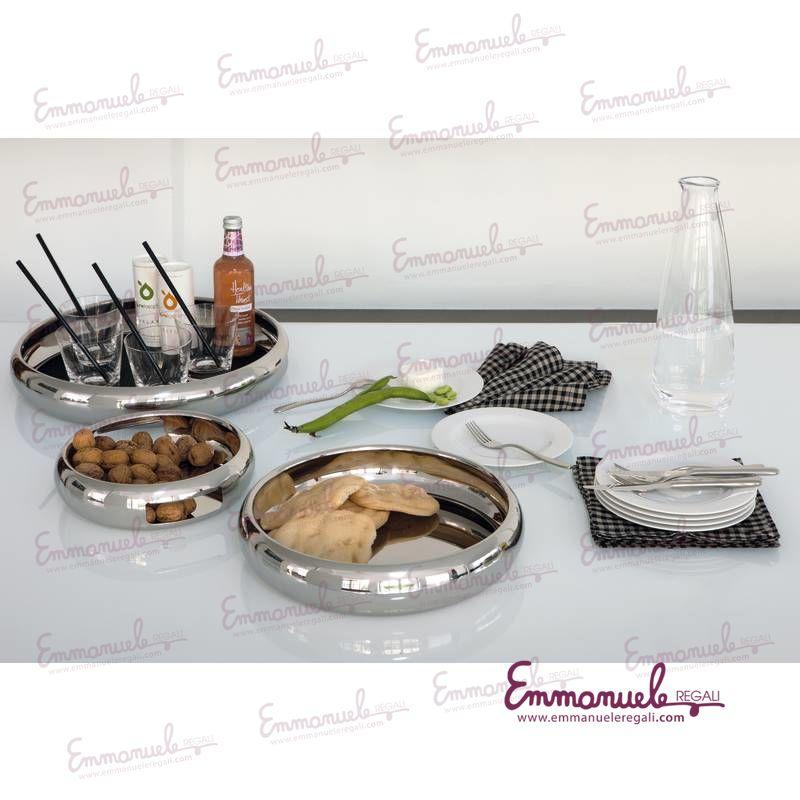 Vassoio Sphera Design Sambonet inox  art56595-40