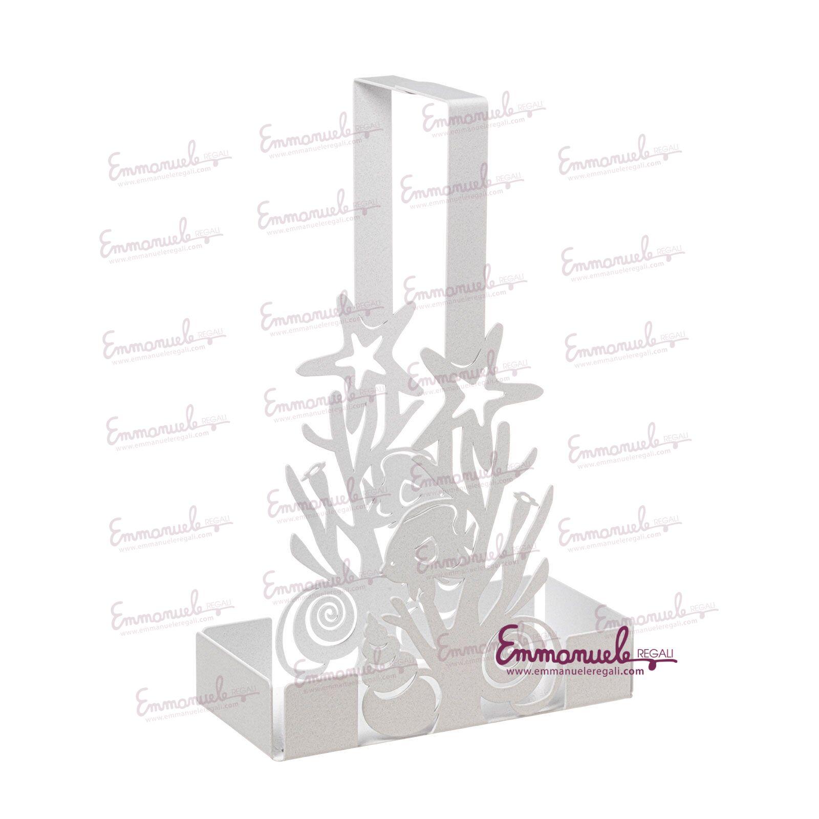 0VA3454C158-Porta bicchieri con coralli Nettuno-Arti e Mestieri-emmanueleregali-bombonieraperfetta